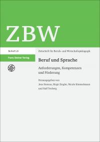 Cover ZBW Beruf und Sprache